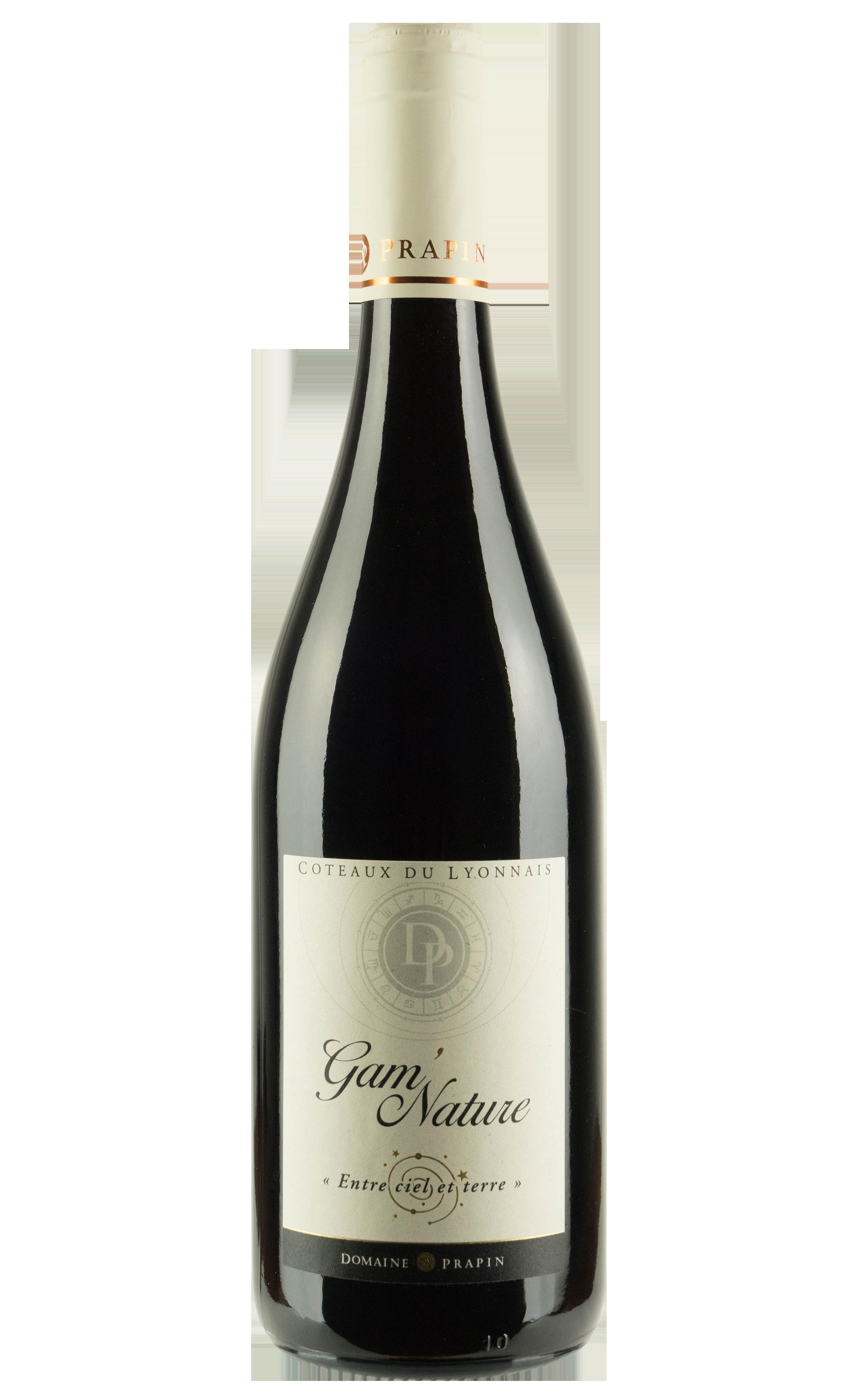 Coteaux du lyonnais rouge - Gamay - Vin nature sans sulfite ajouté